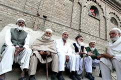 People in Swat Valley Pakistan Stock Photography