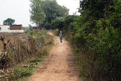 Village People of  Khajuraho Stock Images