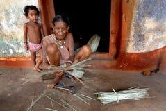 Village People of  Orissa Royalty Free Stock Photo