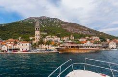 Free Village Perast On Coast Of Boka Kotor Bay - Montenegro Royalty Free Stock Photography - 73629747