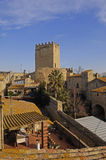 Village of Peratallada Baix Emporda, Costa Brava, Girona provinc Stock Photography