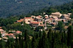Village perdu Images stock