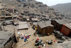Village in Peru Royalty Free Stock Photos