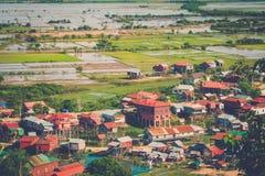 Village Phnom Krom, Siem Reap, Cambodia Stock Images