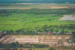 Village Phnom Krom, Siem Reap, Cambodia Royalty Free Stock Photos