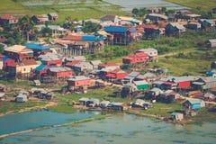 Village Phnom Krom, Siem Reap, Cambodia Stock Photo
