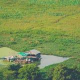 Village Phnom Krom, Siem Reap, Cambodia Royalty Free Stock Images
