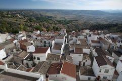 Village of Pisticchi, near Matera in south Italy Stock Photo