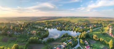 Village pittoresque Photo stock