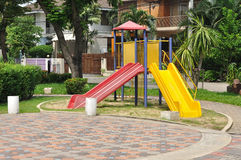 Village playground for all members. Stock Image