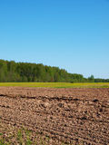 Rural landscape in central Russia Royalty Free Stock Photos