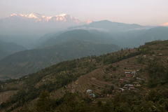 Village in Pokhara Royalty Free Stock Images