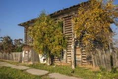 The village Pokrovsky. Royalty Free Stock Photo