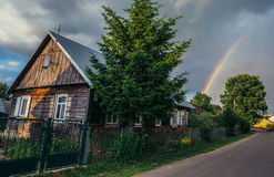 Village in Poland Stock Photography