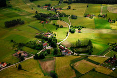 Village polonais Photo libre de droits