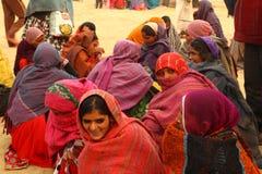 Village poor people in Desert Rajasthan India Royalty Free Stock Photo