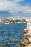 Porec,Istria,Croatia. The Village of Porec in Istria,adriatic Sea,Croatia stock photo