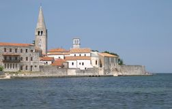 Village of Porec (Parenzo), Istra, Croatia Stock Image