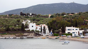 The  village of Port Lligat. Cadaques, Royalty Free Stock Photography