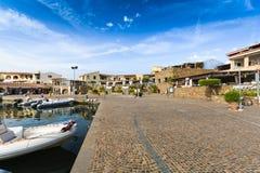 Village of Porto Ottiolu in Sardinia. Italy Stock Photography