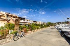 Village of Porto Ottiolu in Sardinia. Italy Royalty Free Stock Image
