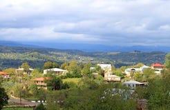 Village près de Kutaisi Photo libre de droits