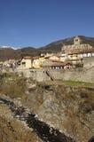 Village of Prats de Mollo - La Preste, Vallespir, Languedoc Roussillon, Pyrenees Orintales, France Stock Image