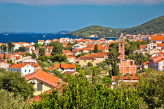 Village of Preko on Ugljan island Royalty Free Stock Images