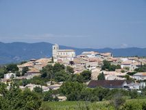 Village in the Provence Stock Photo
