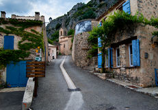 Village of the Provence. A village in the Provence, France Stock Photos