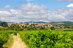 Village in provence Royalty Free Stock Photos
