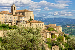 Village in provence Royalty Free Stock Photography