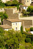 Village in provence Stock Image