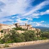 Village in provence Royalty Free Stock Images