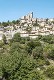 Village in the Pyrenees mountains Royalty Free Stock Image