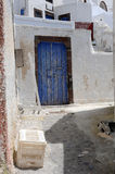 In the Village of Pyrgos Royalty Free Stock Images