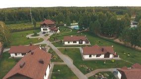 Village résidentiel moderne banque de vidéos