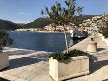 The Village of Rabac in Istria,adriatic Sea. Croatia royalty free stock photography