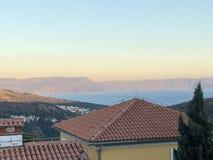 The Village of Rabac in Istria,adriatic Sea. Croatia stock images