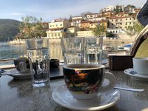 The Village of Rabac in Istria,adriatic Sea. Croatia royalty free stock image