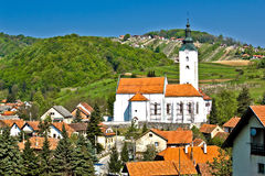 Village of Remetinec in Zagorje Stock Photo