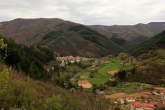 Village in the Rhodope Mountains Royalty Free Stock Image