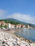 Rio Marina,Island of Elba,Tuscany,Italy. Village of Rio Marina on Island of Elba,Tuscany,mediterranean Sea,Italy stock photography