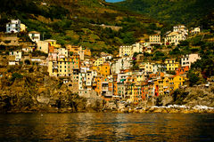 Village of Riomaggiore Royalty Free Stock Image
