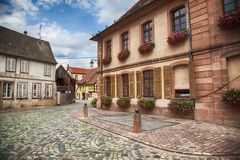 Village Riquewihr,  Strasbourg region Stock Photos