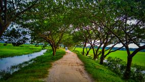 village road royalty free stock images