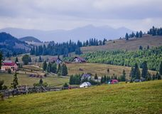 Village in Romania Stock Photography