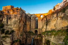 The village of Ronda in Andalusia, Spain. Royalty Free Stock Photo