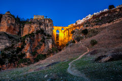 The village of Ronda in Andalusia, Spain. Stock Image