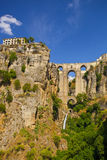 The village of Ronda in Andalusia, Spain. Stock Photography